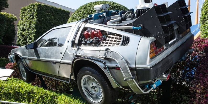 'Back to the Future' DeLorean Auction Hits $91.5 Million, but There's a Catch