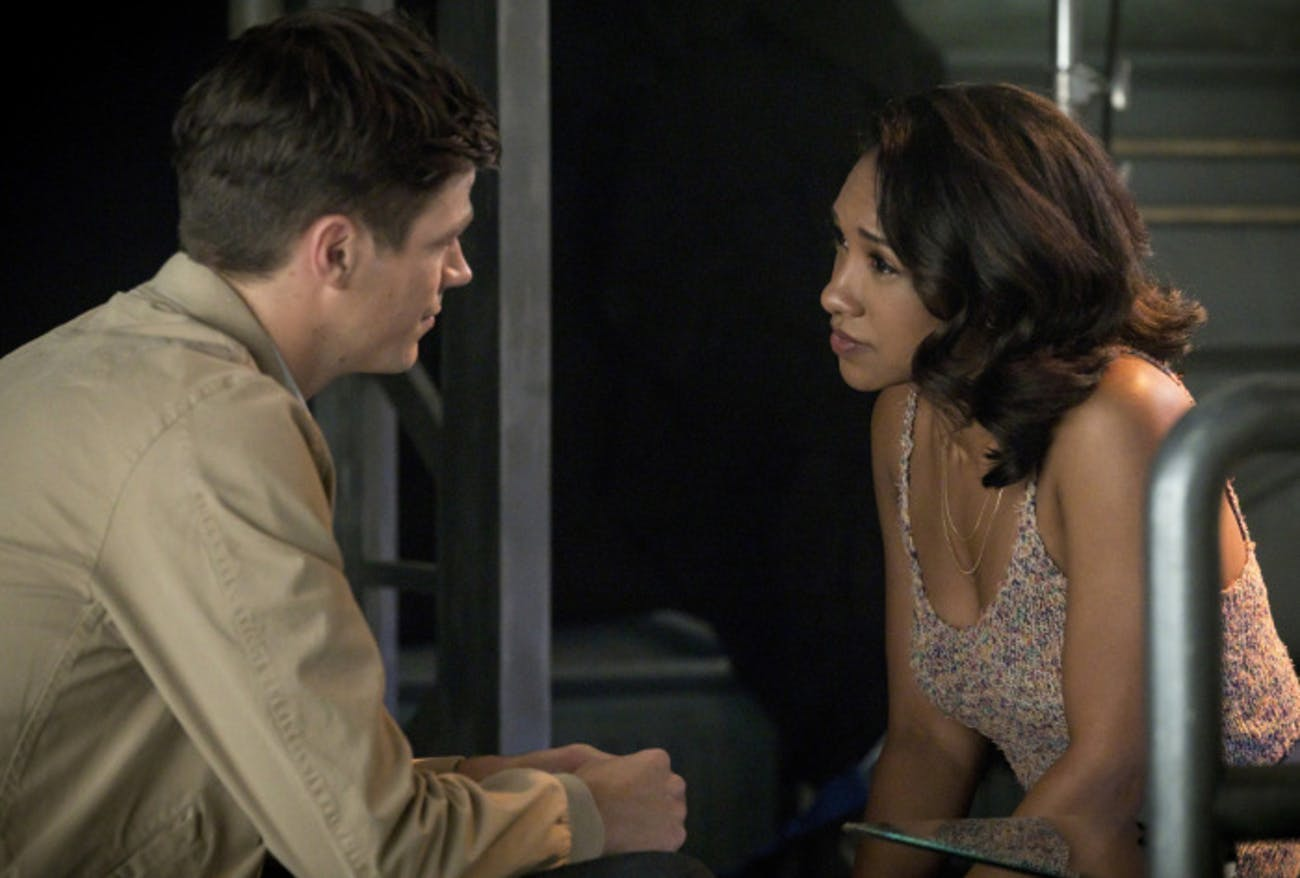 Barry and Iris work out some problems in their relationship.