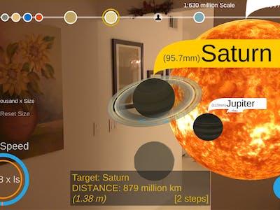 Google's Solar Simulator App Creates an Augmented Reality Solar System at Home