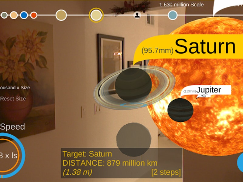 Google's Solar Simulator App Creates an Augmented Reality Solar System at Home