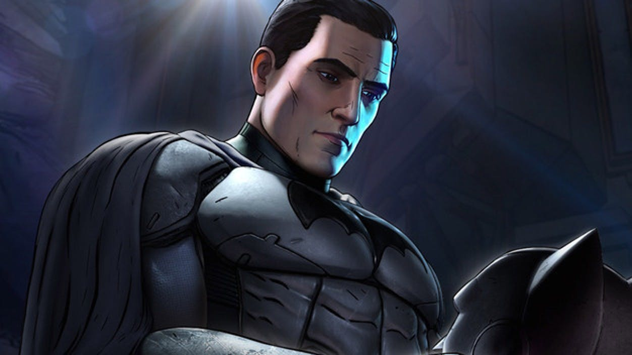 Bruce Wayne in Batman the Telltale Series