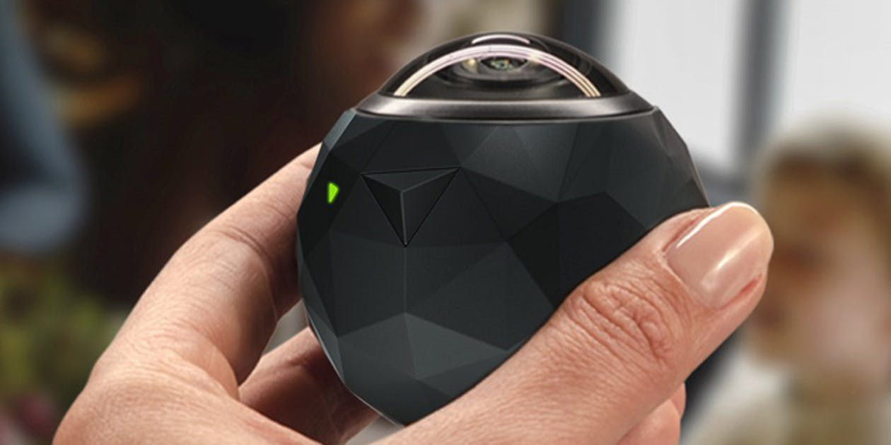 The 360fly HD Video Camera
