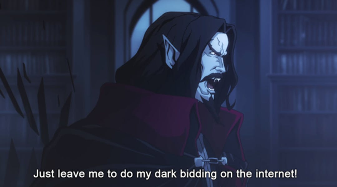 Castlevania What We Do in the Shadows