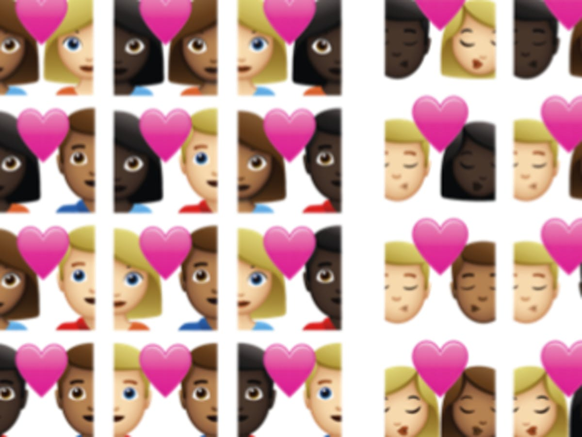 Its Time For Interracial Couple Emoji Argues Tinder And