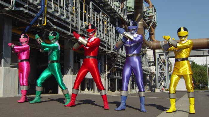 ranking every power rangers uniform from classic series