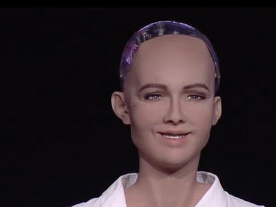 "Sophia the Humanoid Robot Says She Doesn't Want to Kill Humans ... ""Anymore"""