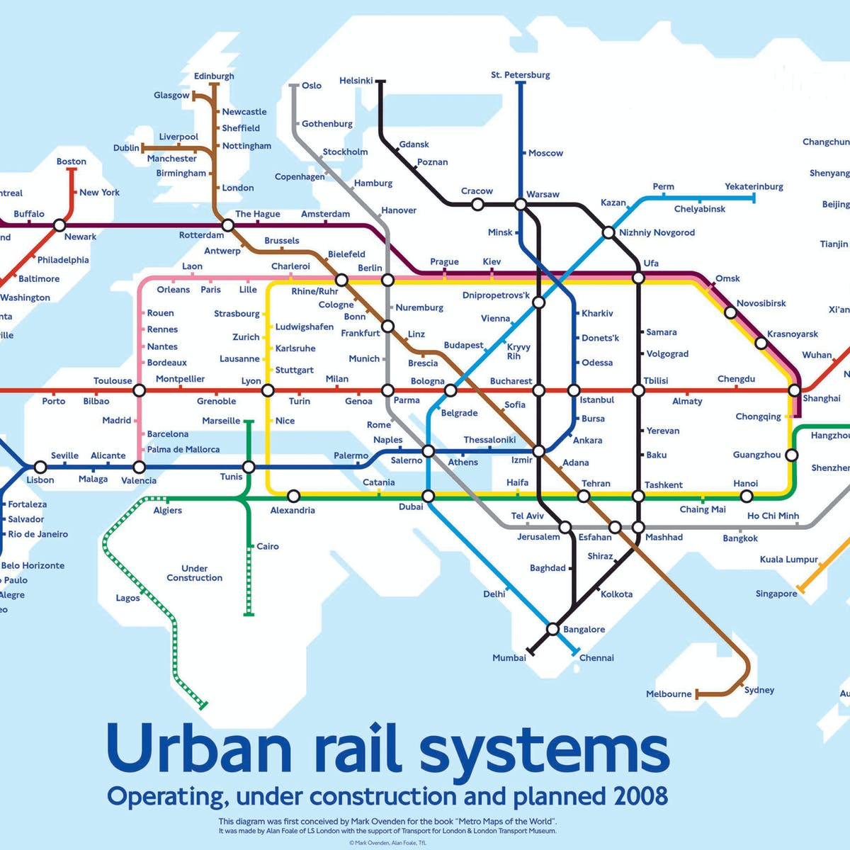 Subway Map Train.World Map Shows What A Hyperloop Future May Look Like Inverse