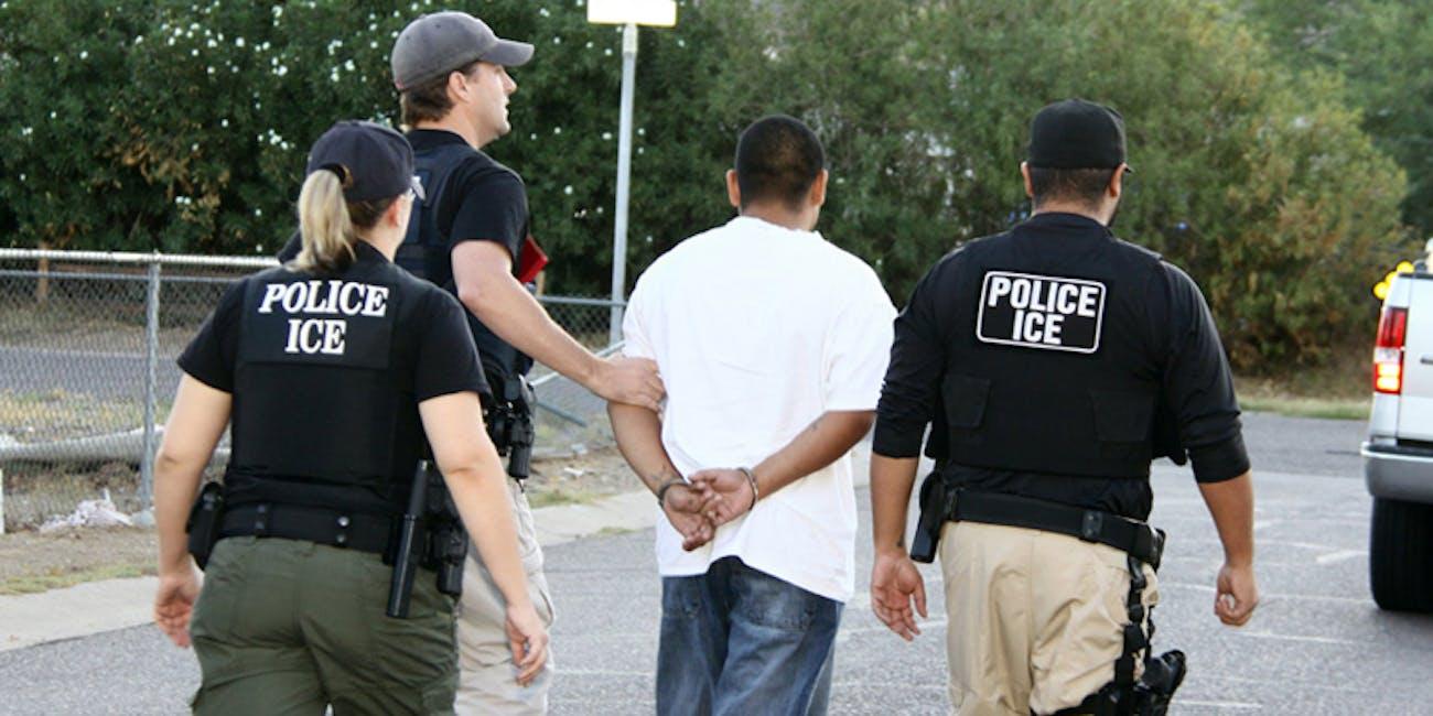 ICE arrest