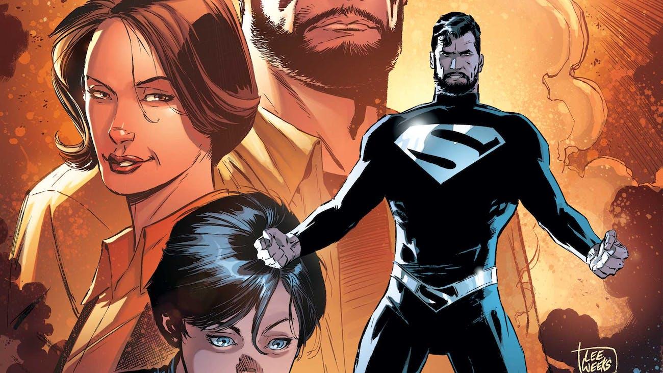 Superman Black Costume
