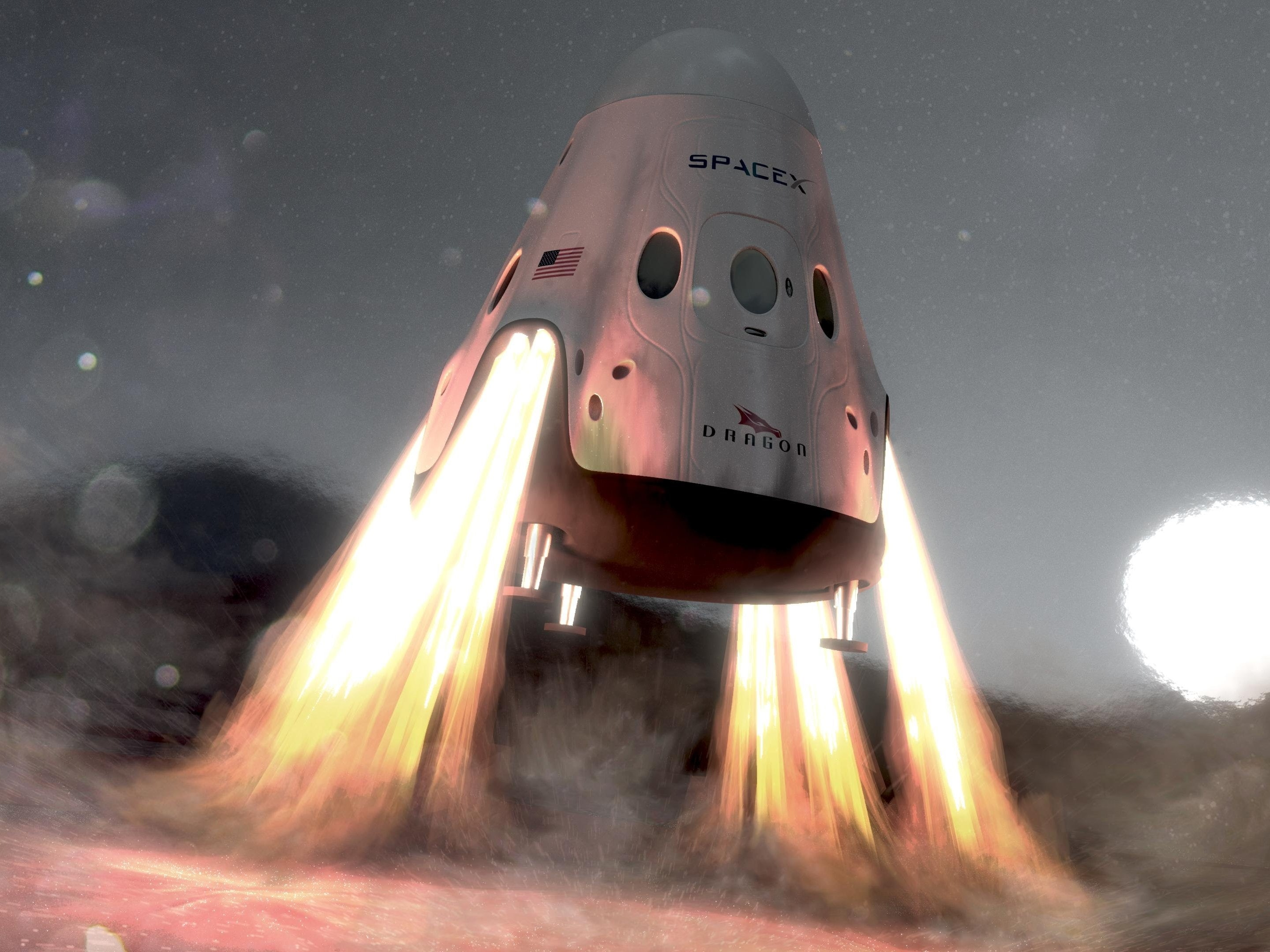 What Happens if SpaceX Beats NASA to Mars?