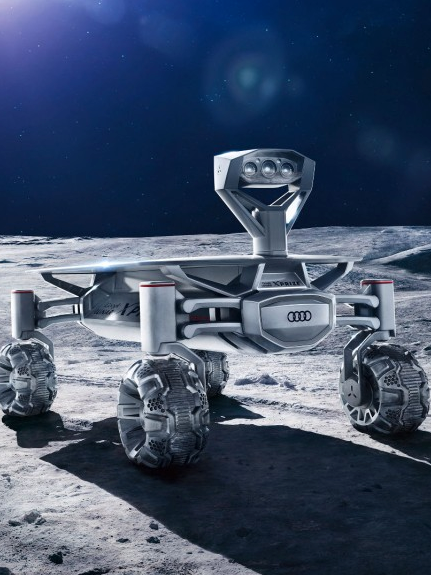 A Bunch of German Scientists are sending an Audi Rover to the Moon