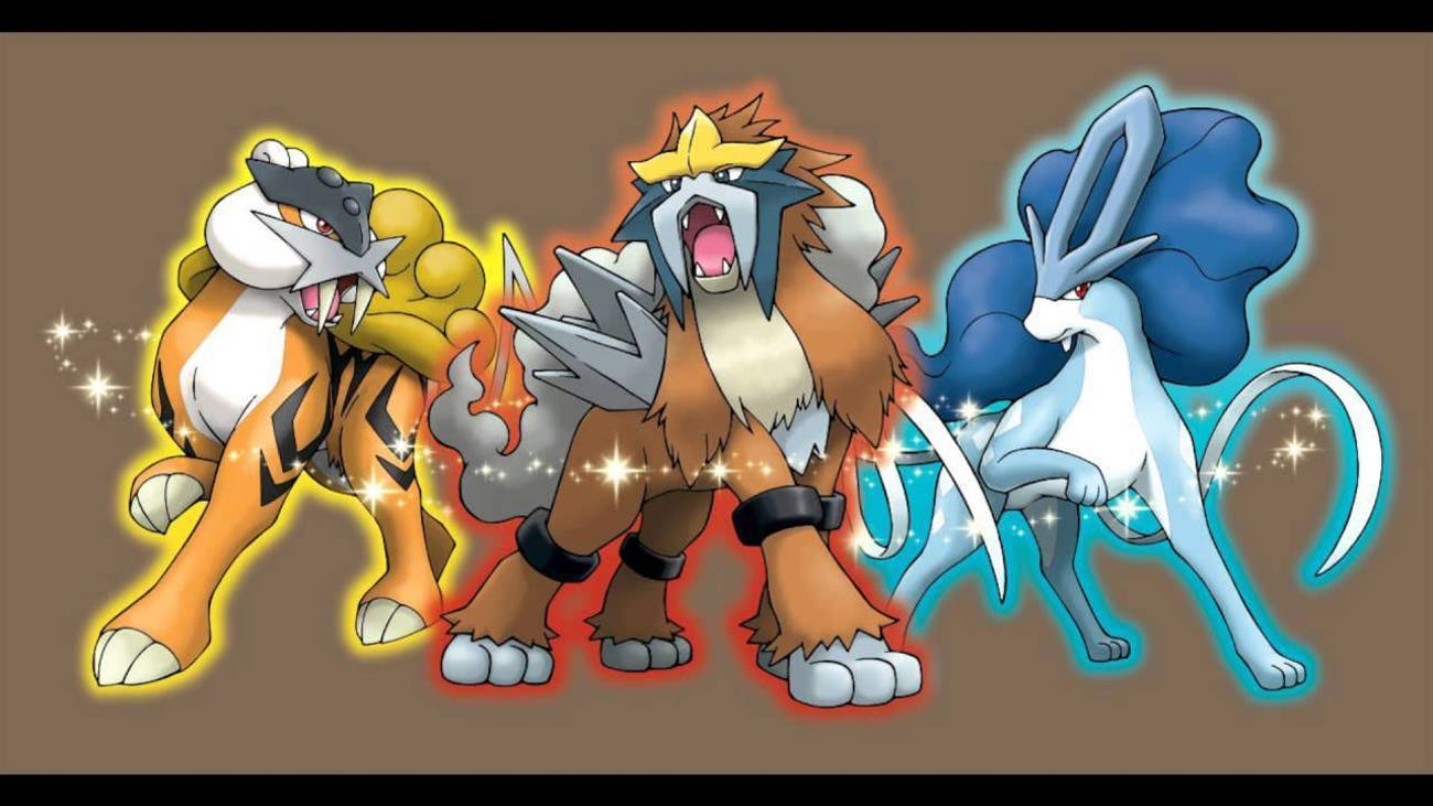 Raikou, Entei, and Suicune are three of the hardest Pokémon to catch in any game.
