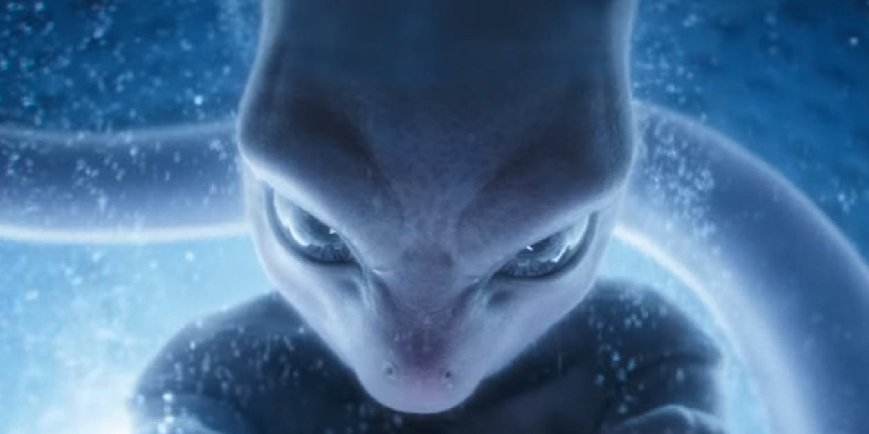 Mewtwo looking menacing AF in 'Detective Pikachu' easter eggs