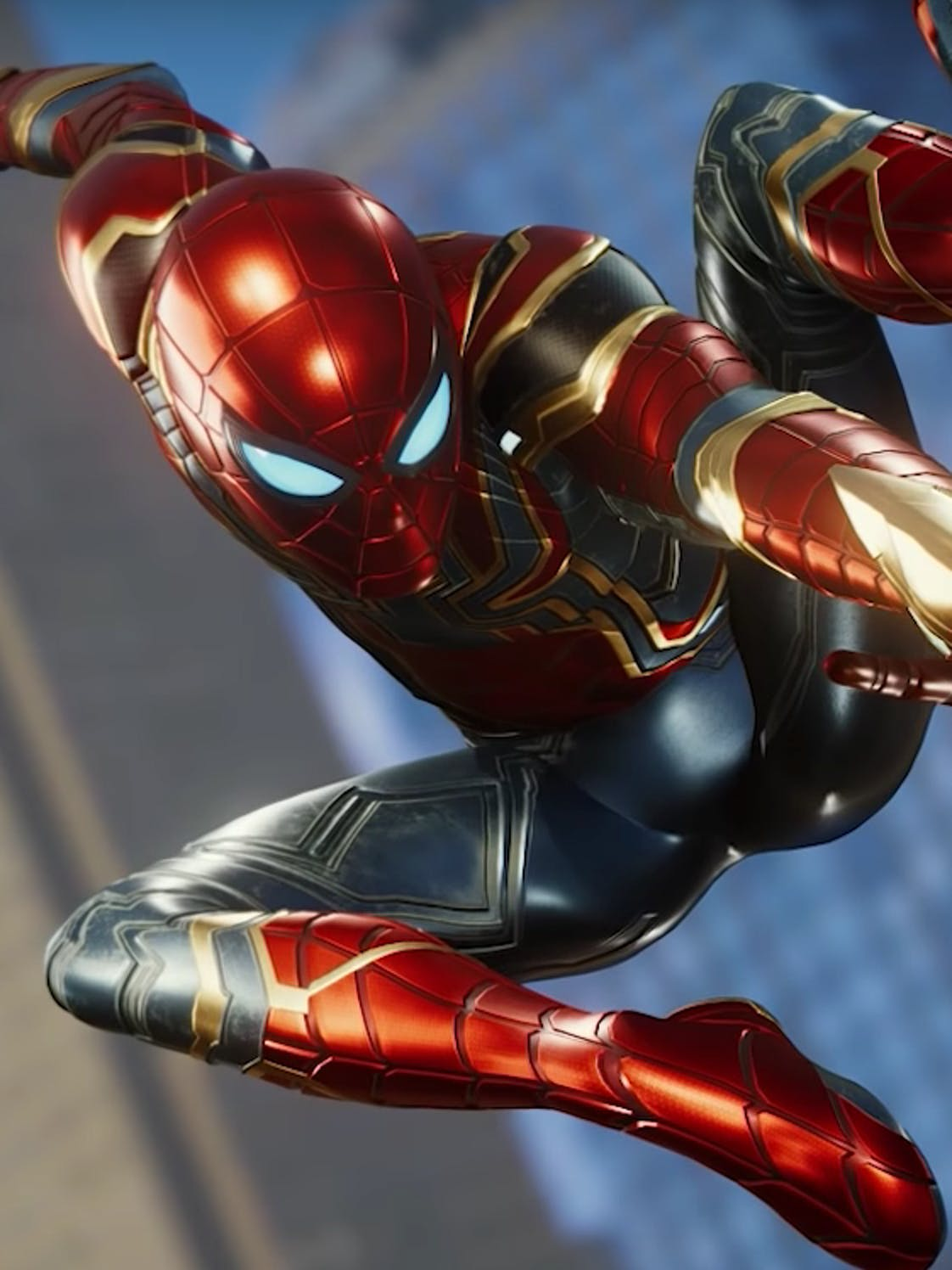 Iron Spider PS4 Marvel