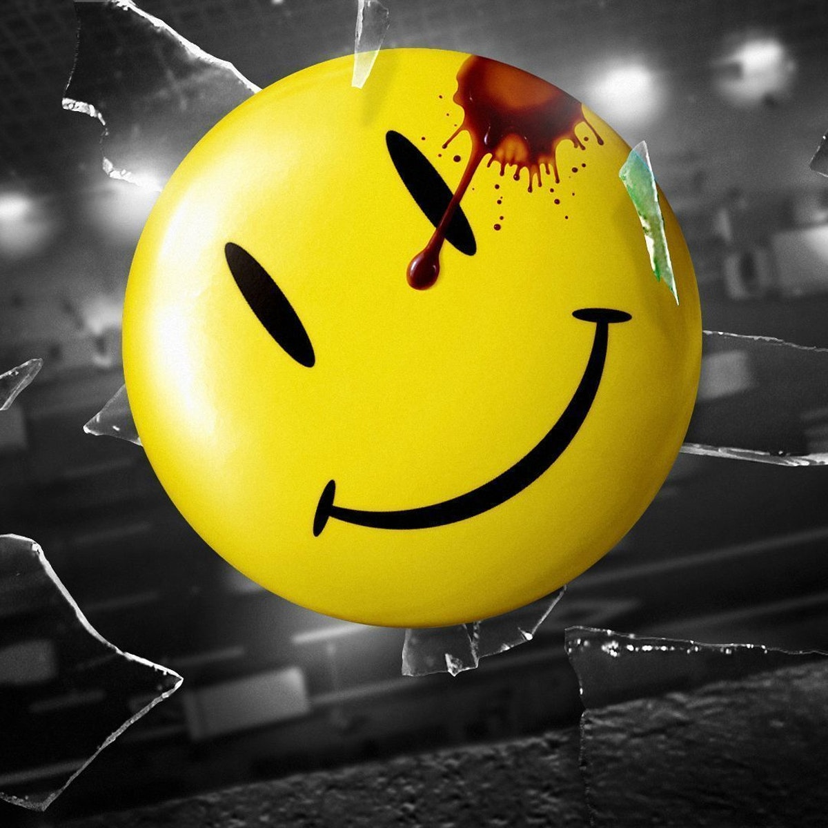The Comedian Watchmen Smiley