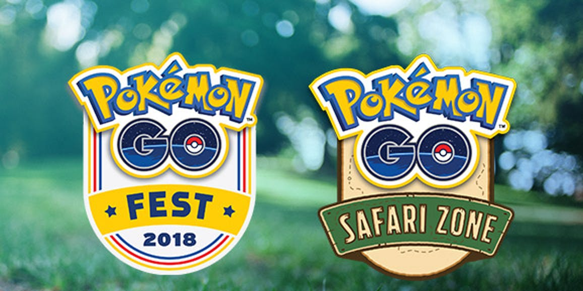 Pokemon GO Summer Tour 2018, Pokemon GO Fest, Safari Zone