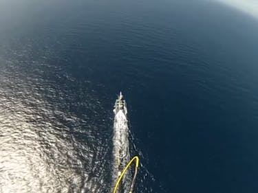DARPA Tests Eye in the Sky for Unmanned High-Speed Ship