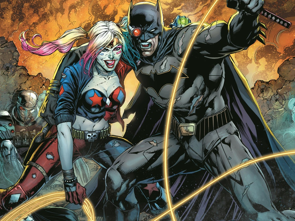 DC Just Announced a Justice League vs. Suicide Squad Series