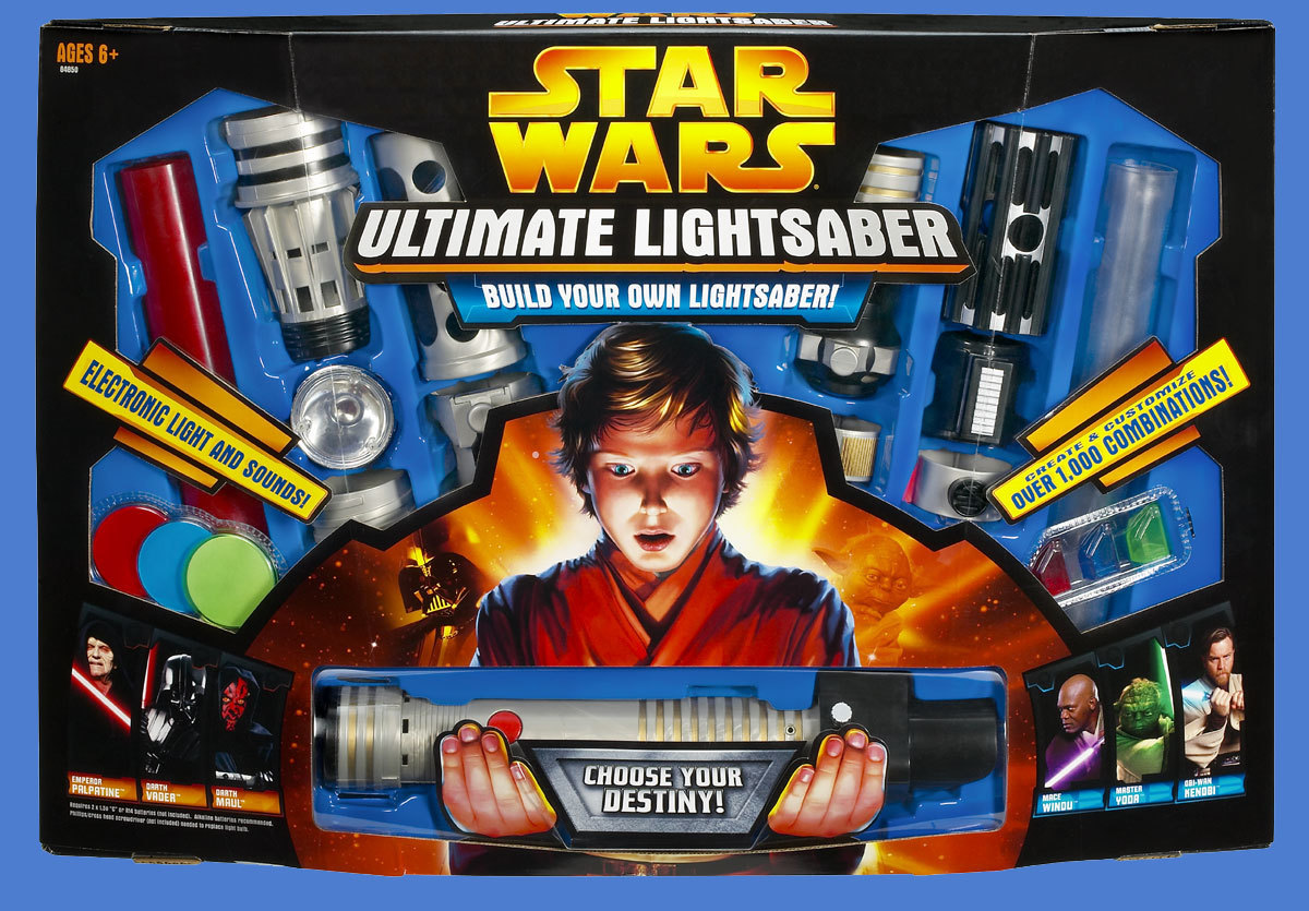 the entire history of star wars lightsaber toys in 12 images inverse