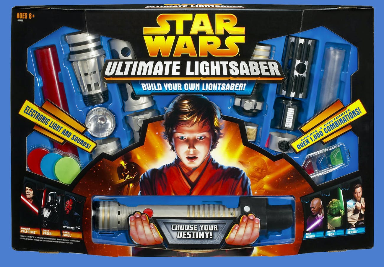 The Entire History of 'Star Wars' Lightsaber Toys in 12