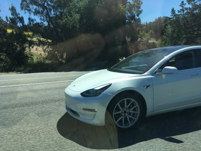 The Model 3 in action.