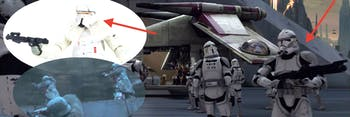 Clone Troopers and Range Troopers