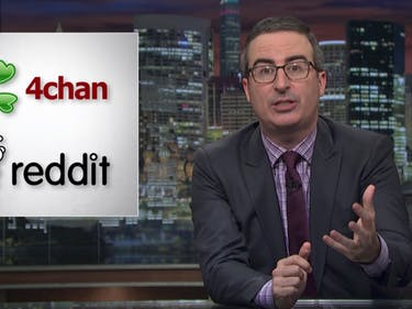 John Oliver Calls on 4chan and Reddit to Help Keep Net Neutrality