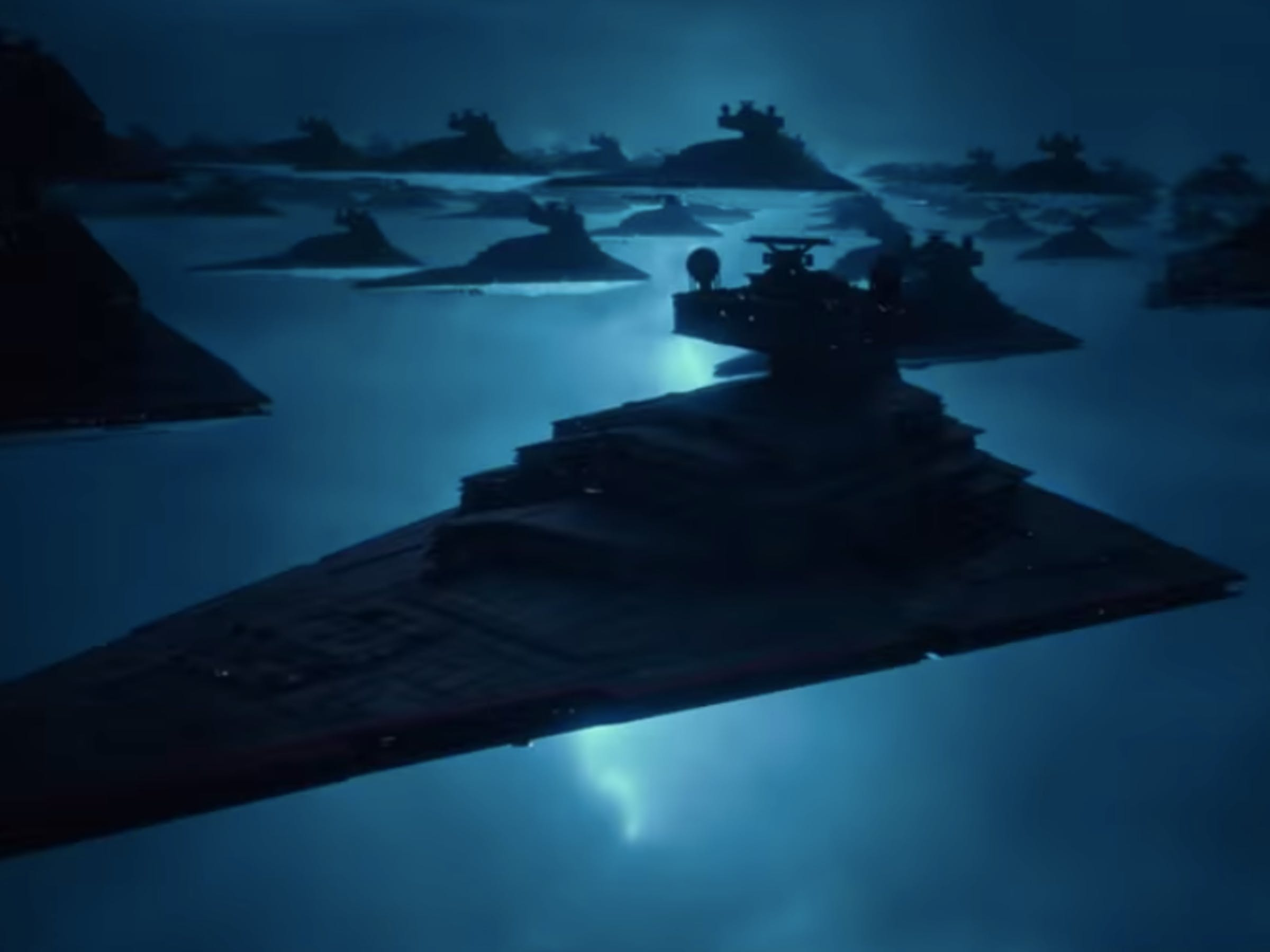 Classic Star Destroyers in 'The Rise of Skywalker'