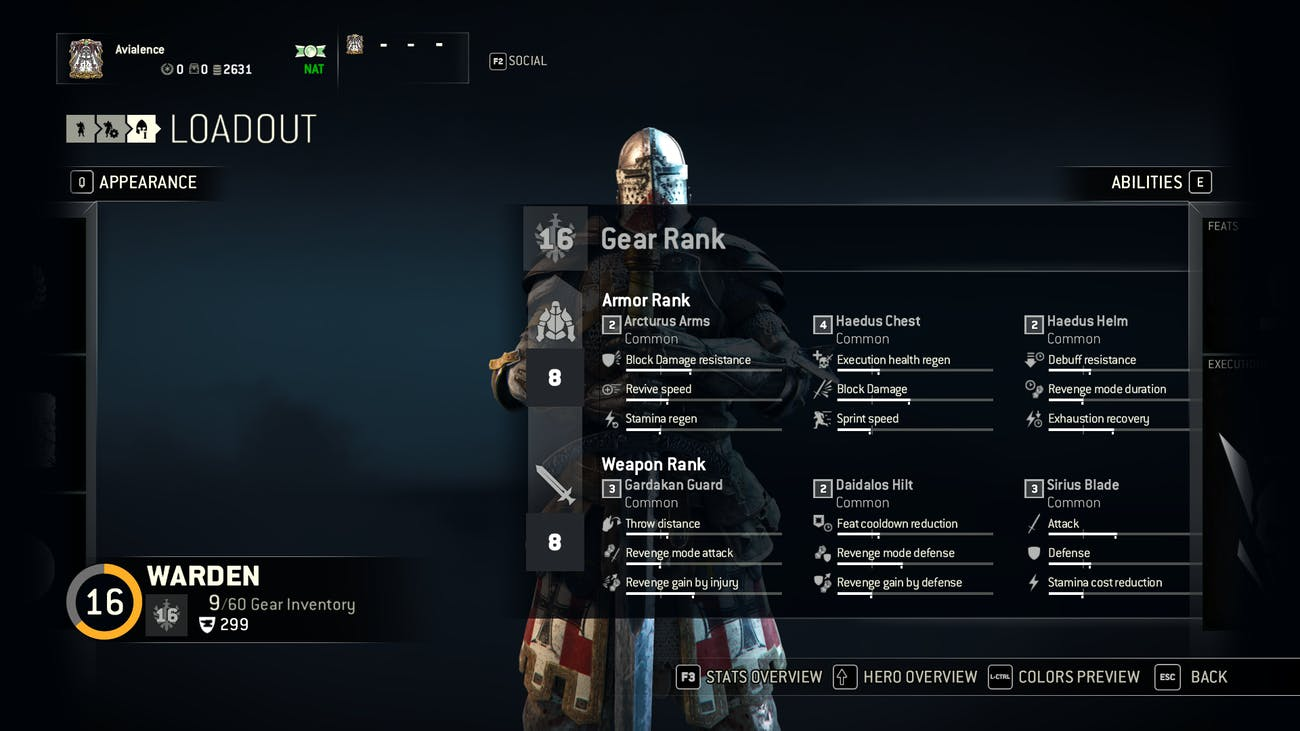 How the 'For Honor' Gear System Works | Inverse
