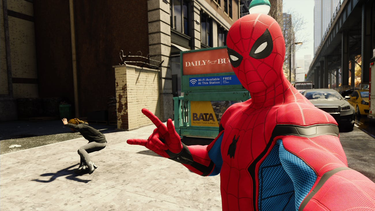 'Spider-Man' PS4 Stark Suit