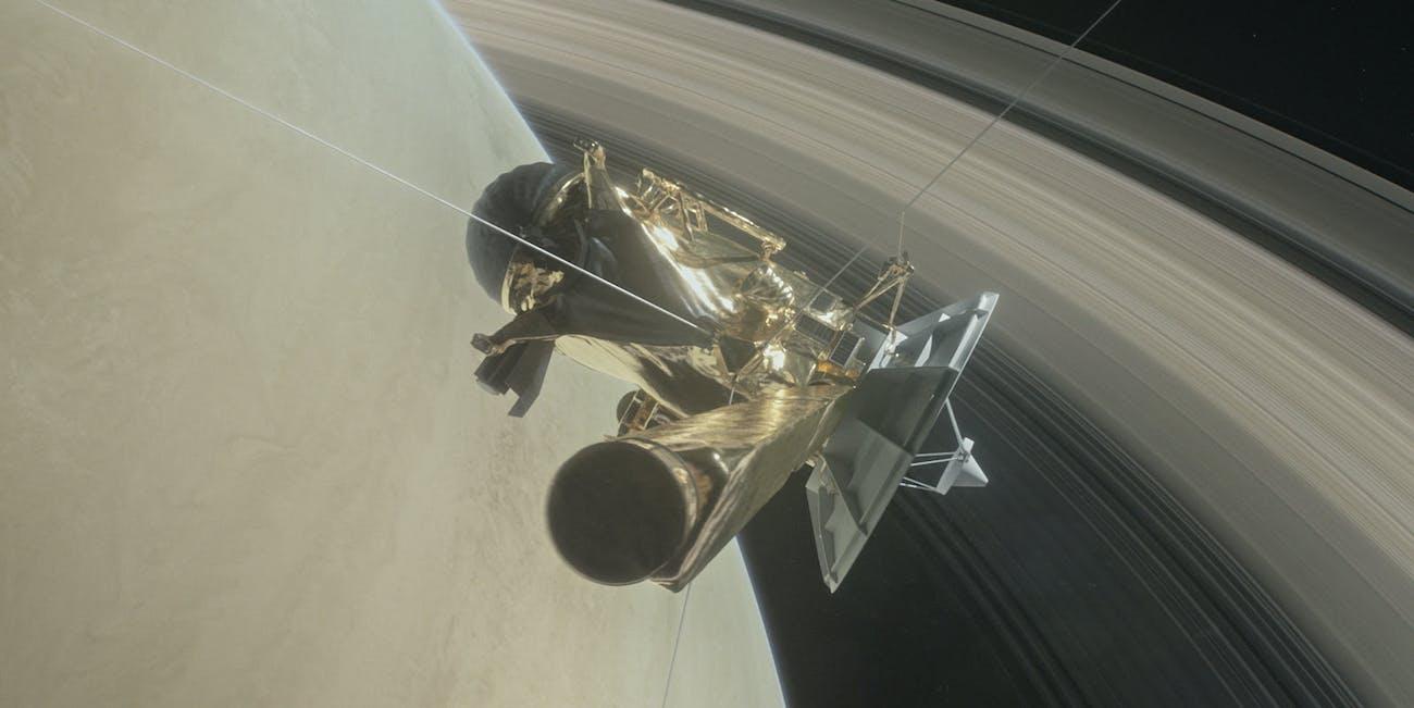 Cassini Movie Saturn