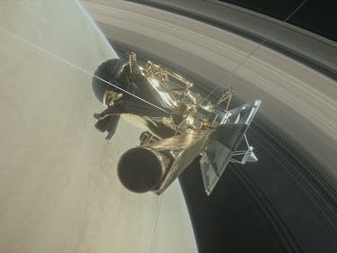 Watch Cassini Plunge Toward Saturn in This Astonishing NASA Video