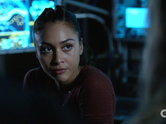 Raven Rayes on 'The 100'