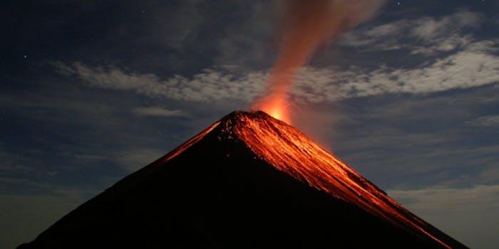 Volcán de Fuego, Guatemala, eruption