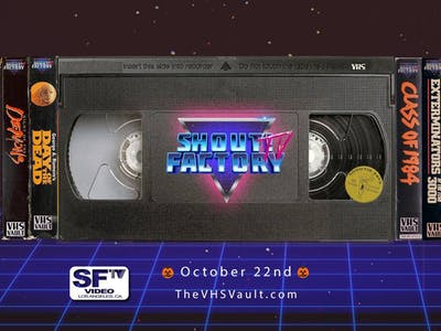 Shout Factory Streams VHS-Quality Horror Movies for Halloween