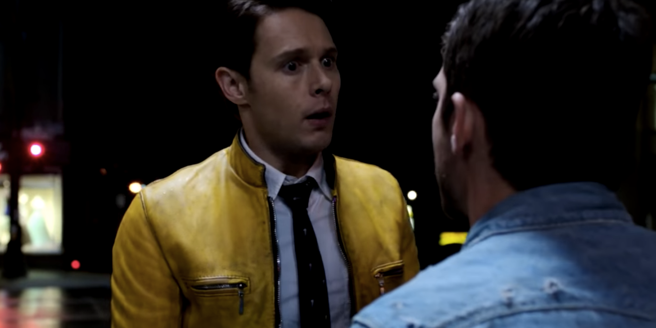 Todd and Dirk in 'Dirk Gently's Holistic Detective Agency'