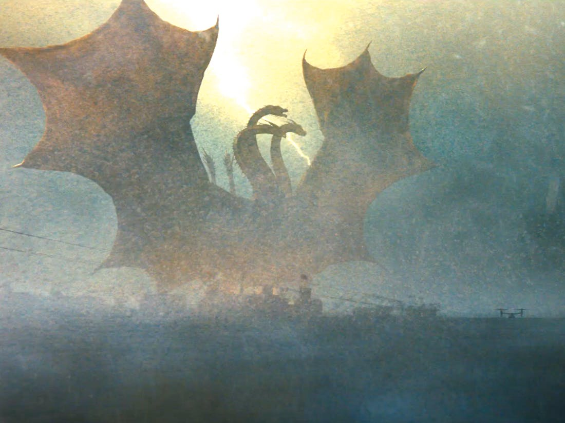 Godzilla King Ghidora