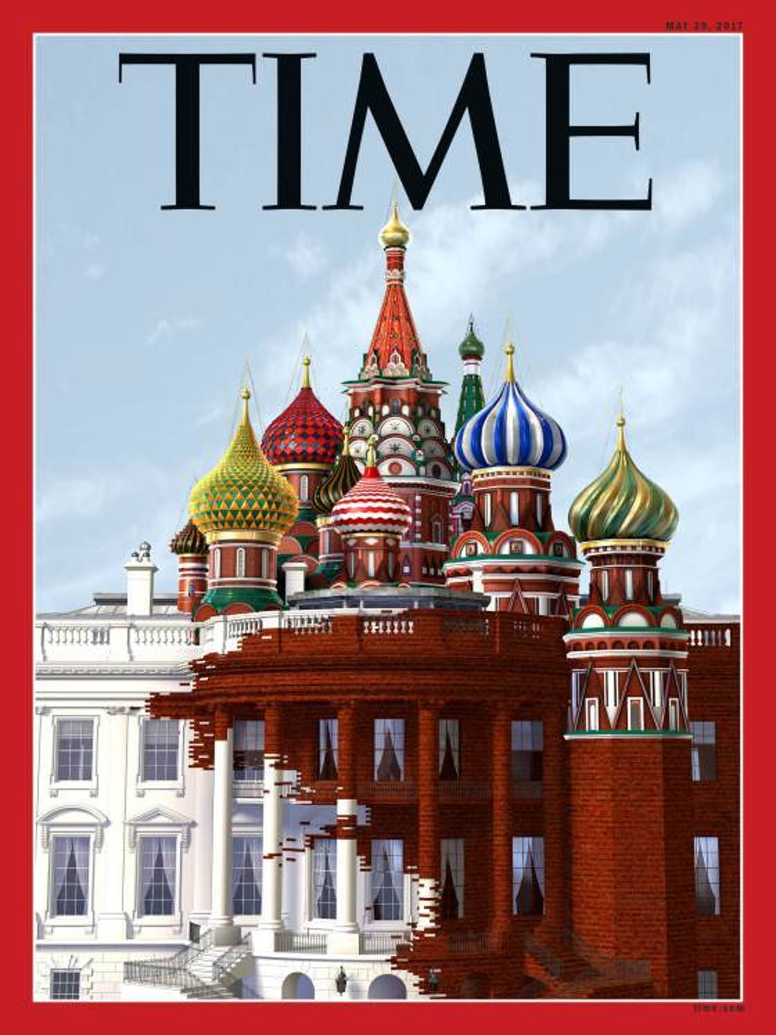 TIME Magazine Russian minarets White House cover