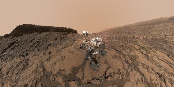 NASA's Mars Curiosity rover.