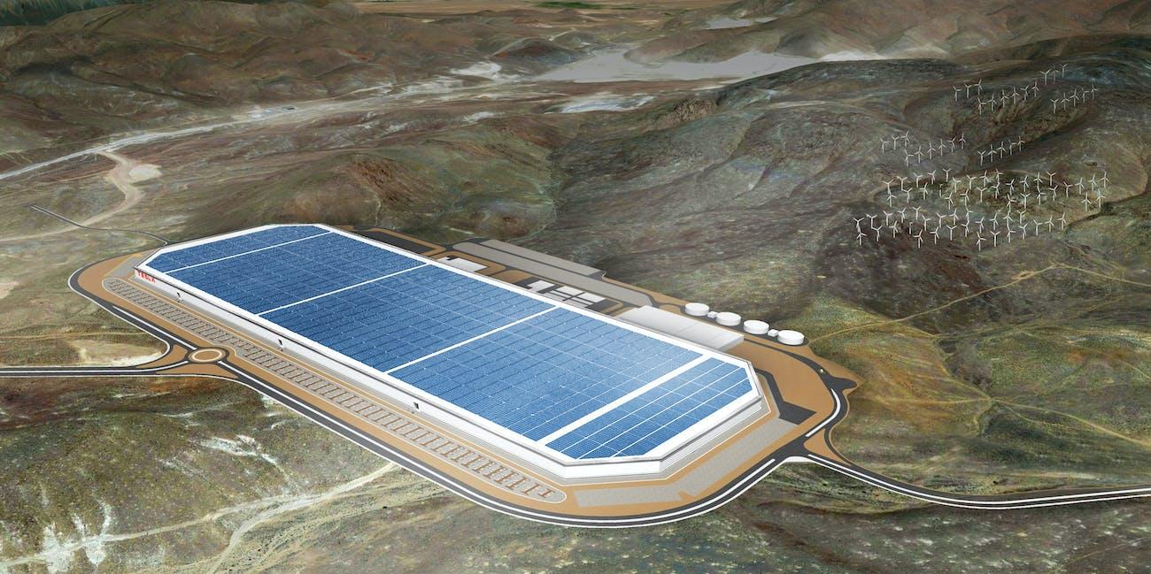 The Tesla Motors Gigafactory.