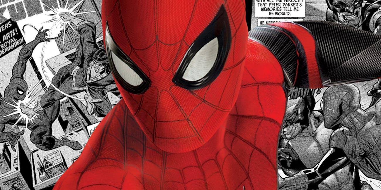 Marvel Spider-Man MCU Crossovers