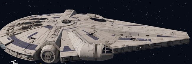 new millennium falcon design in 39 solo 39 has been explained inverse. Black Bedroom Furniture Sets. Home Design Ideas