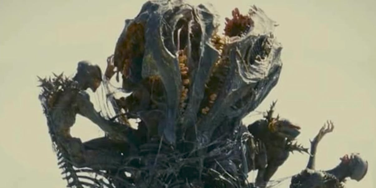 Shin Godzilla Ending Skeletons Explaining That Final Weird