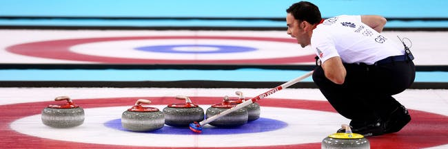 Olympics Curling Game 2018