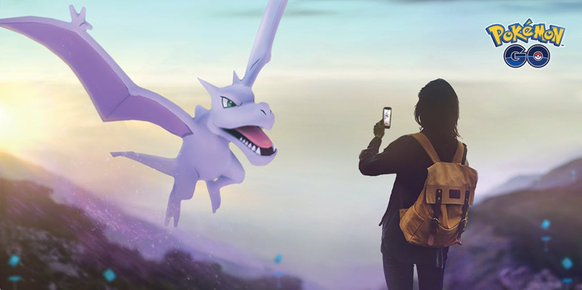 'Pokémon GO' gets a Rock-type event, with an emphasis on the fossils.