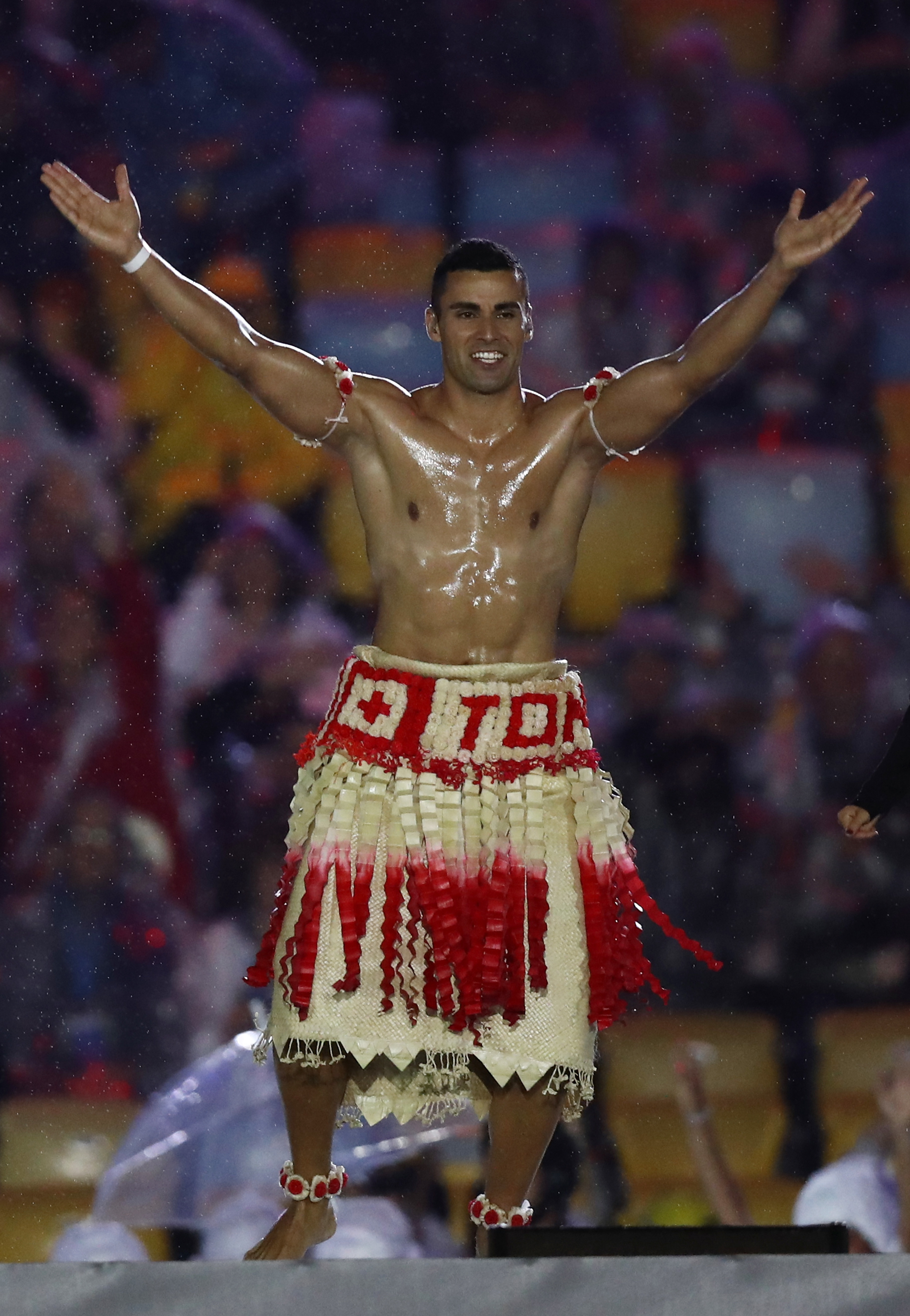 Pita Taufatofua, you have succeeded.