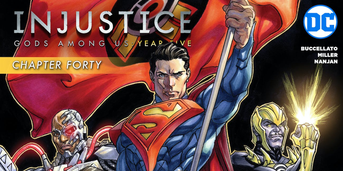 DC Comics Injustice Year Five