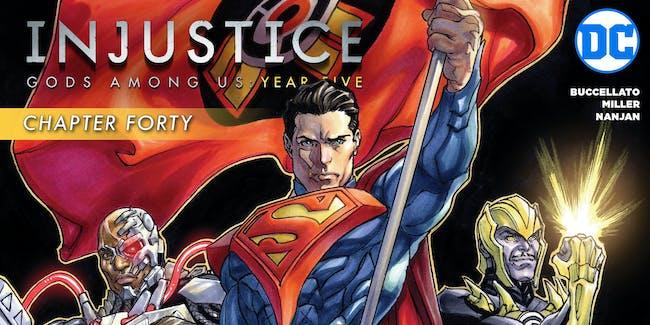 DC Comics Injustice Year Five