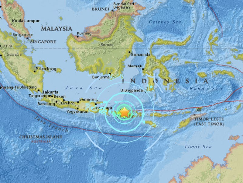 Indonesia Earthquake Tsunami Warning Lifted But Officials Fear