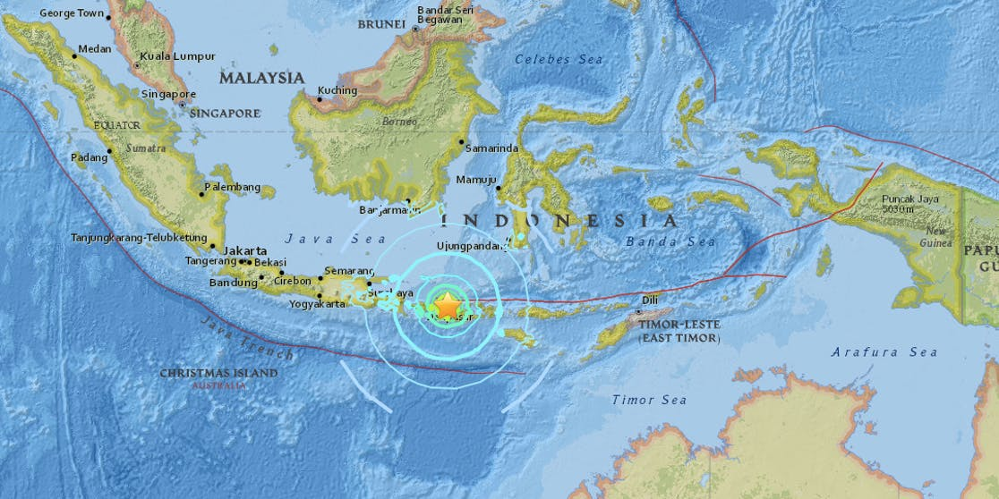 indonesia earthquake tsunami warning lifted but